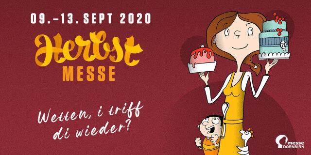 Banner der Dornbirner Herbstmesse 2020