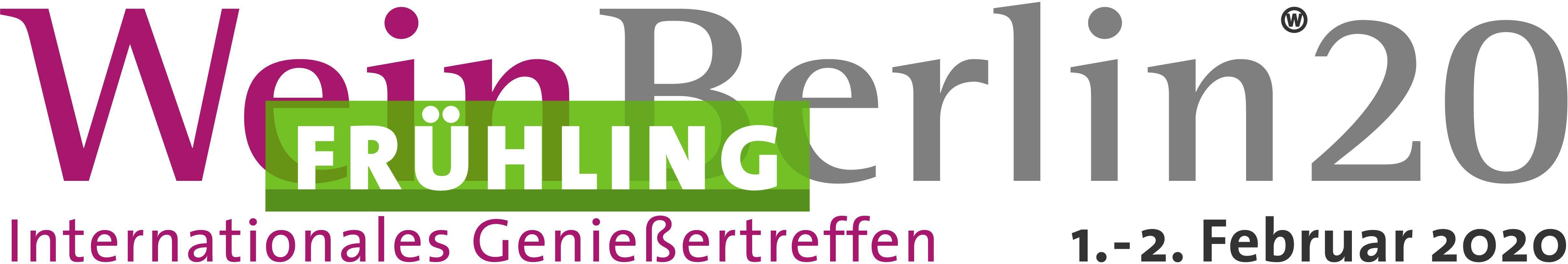 Veranstaltungsbanner der WeinBerlin Frühling 2020