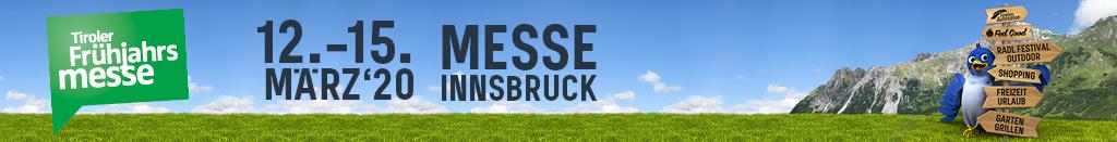 Banner der Tiroler Frühjahrsmesse 2020