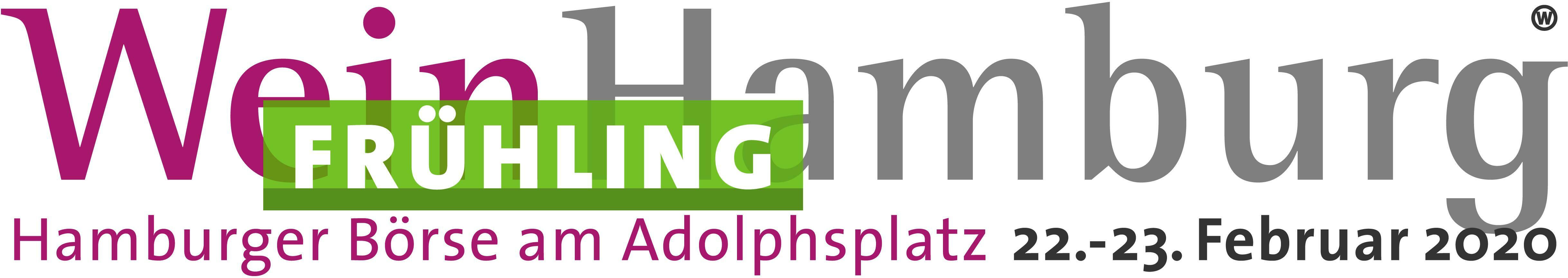 Banner der WeinHamburg Frühling 2020