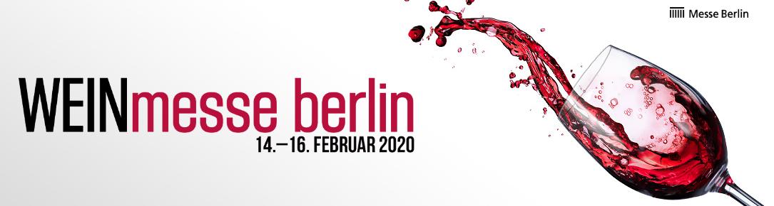 Banner der WEINmesse Berlin 2020