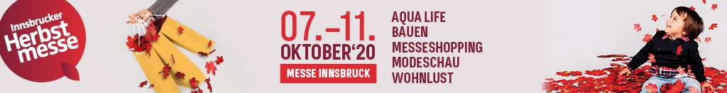 Banner der Innsbrucker Herbstmesse 2020