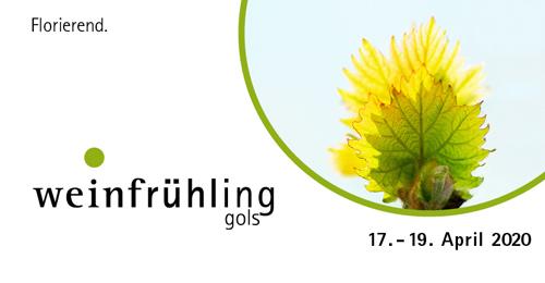 Banner des Golser Weinfrühling 2020